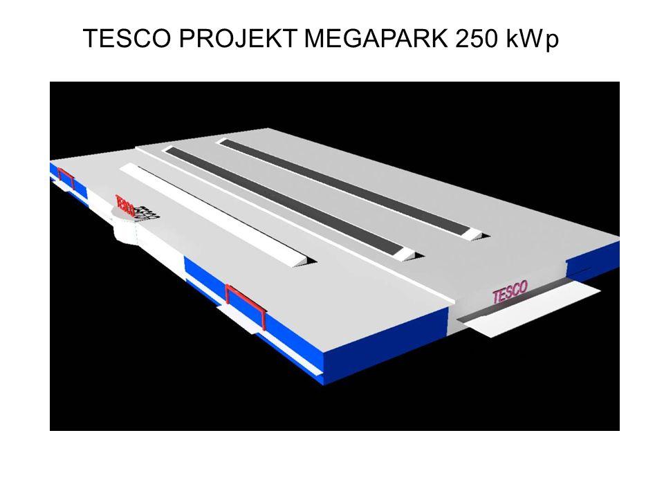 TESCO PROJEKT MEGAPARK 250 kWp
