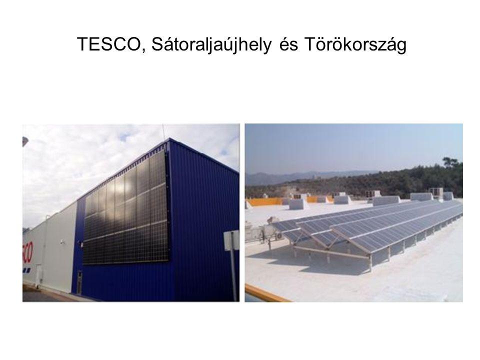 TESCO, Sátoraljaújhely és Törökország