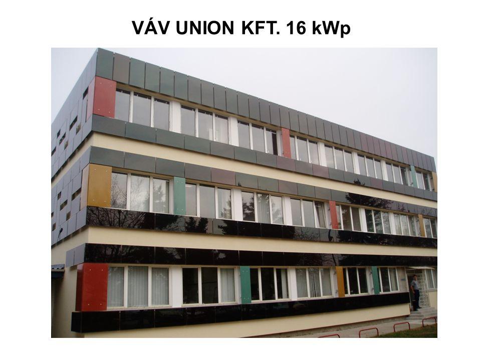VÁV UNION KFT. 16 kWp