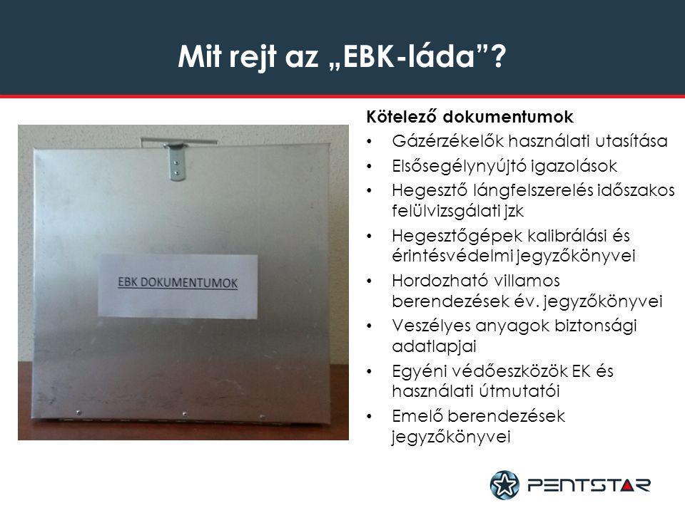 """Mit rejt az """"EBK-láda ."""