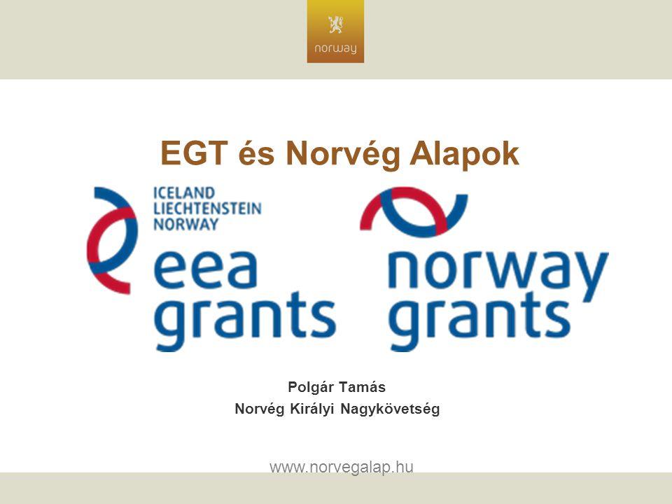 EGT és Norvég Alapok Polgár Tamás Norvég Királyi Nagykövetség www.norvegalap.hu