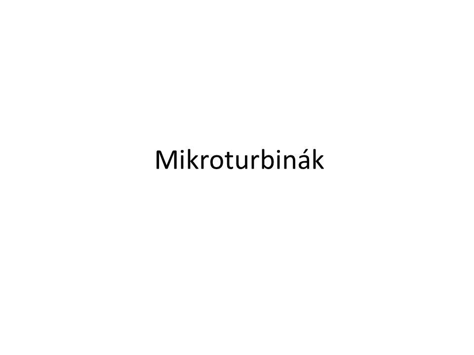 Mikroturbinák