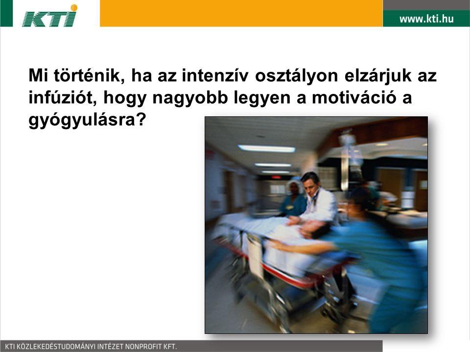 Mi történik, ha az intenzív osztályon elzárjuk az infúziót, hogy nagyobb legyen a motiváció a gyógyulásra?