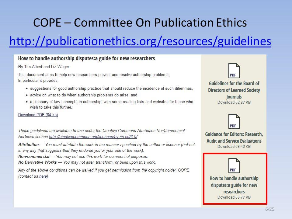 Egyoldalú idézések Adott közlemény publikálásánál az ellentétes értelmű adatokat közlő publikációk (szándékos?) elhallgatása.