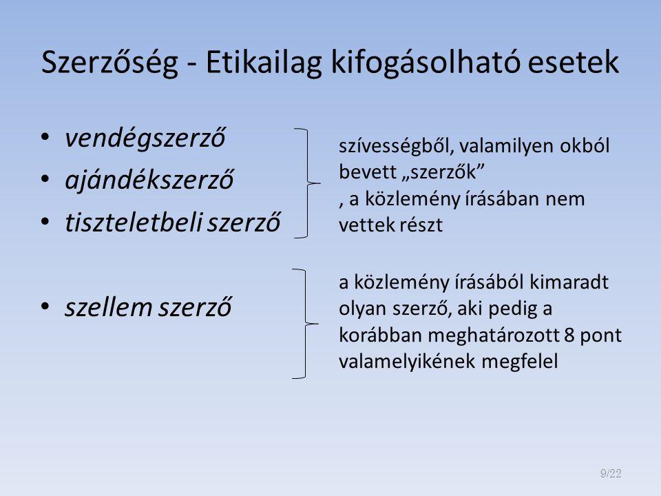 MEGOSZTOTTMEGOSZTOTT ELSŐSZERZŐSÉGELSŐSZERZŐSÉG 10/22