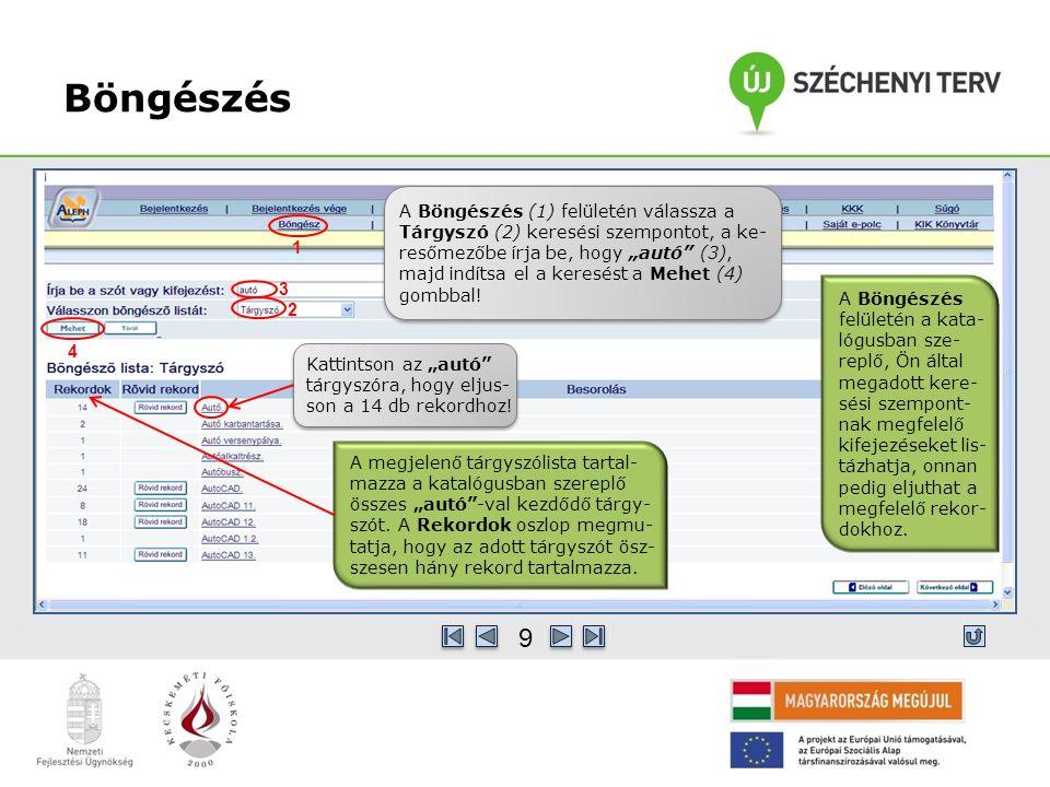 Találatok adatbázisonként A Publikációra kattintva megkapjuk az adatbázisba felvitt növényterme- léssel kapcsolatos publikációk adatait.