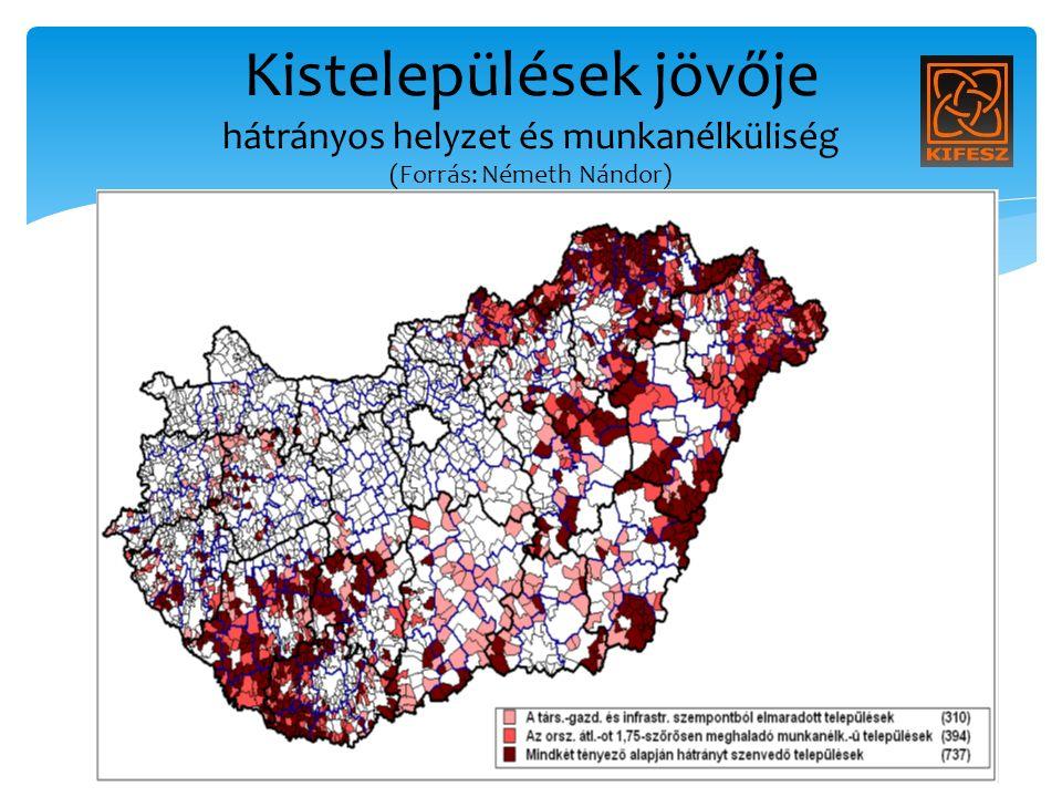 Kistelepülések jövője hátrányos helyzet és munkanélküliség (Forrás: Németh Nándor)