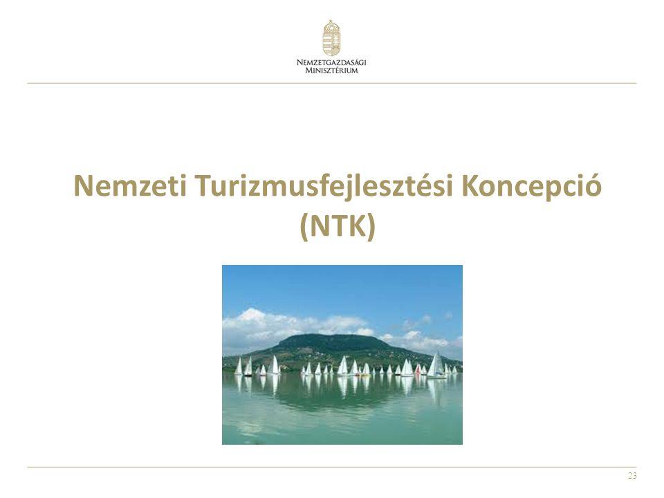 23 Nemzeti Turizmusfejlesztési Koncepció (NTK)