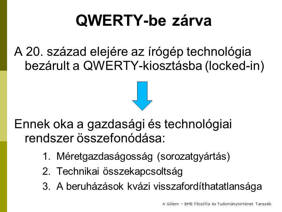 QWERTY-be zárva A 20.