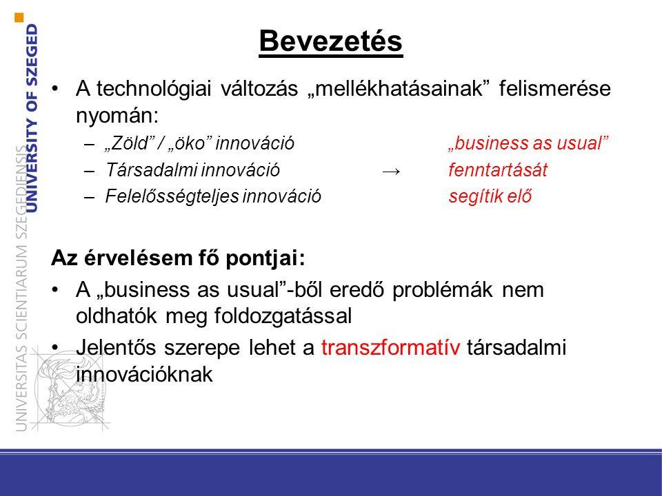 Mi a technológia.Technikai tárgy (artefact) –Pl. személyautó Technika (technique): –Pl.