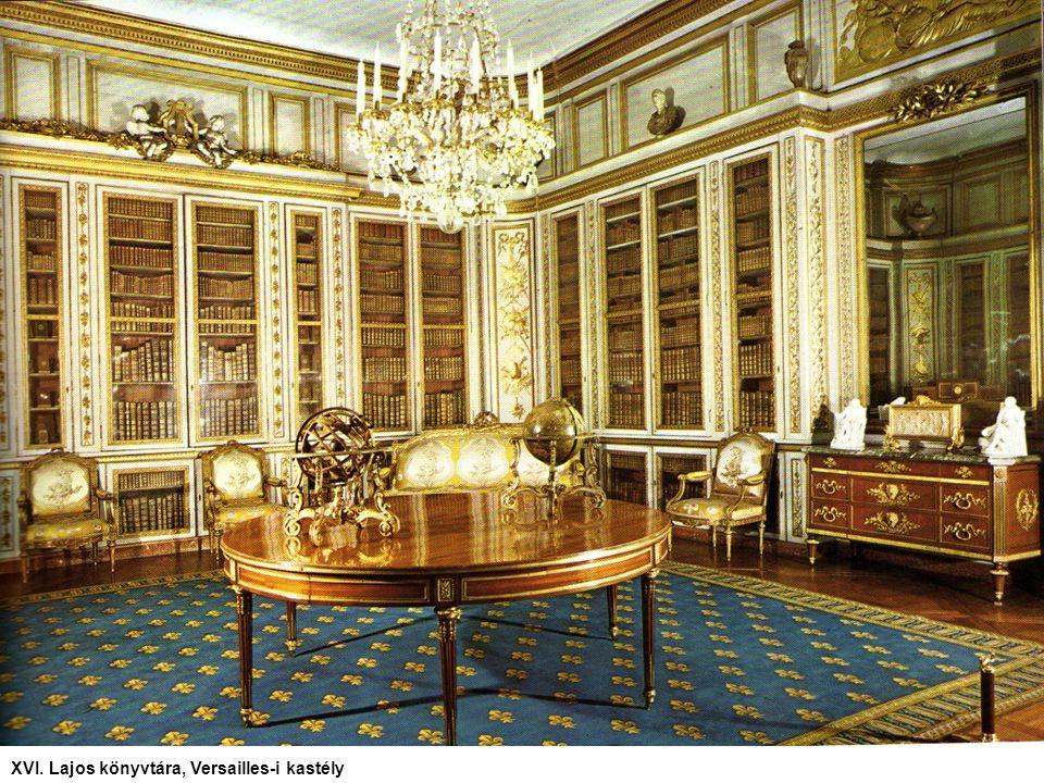XVI. Lajos könyvtára, Versailles-i kastély