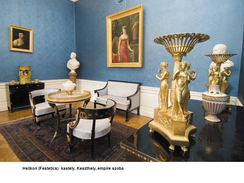 Helikon (Festetics) kastély, Keszthely, empíre szoba