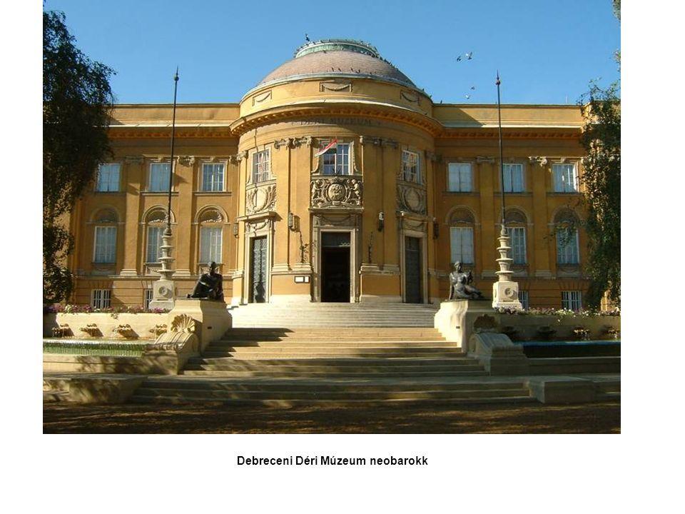 Debreceni Déri Múzeum neobarokk