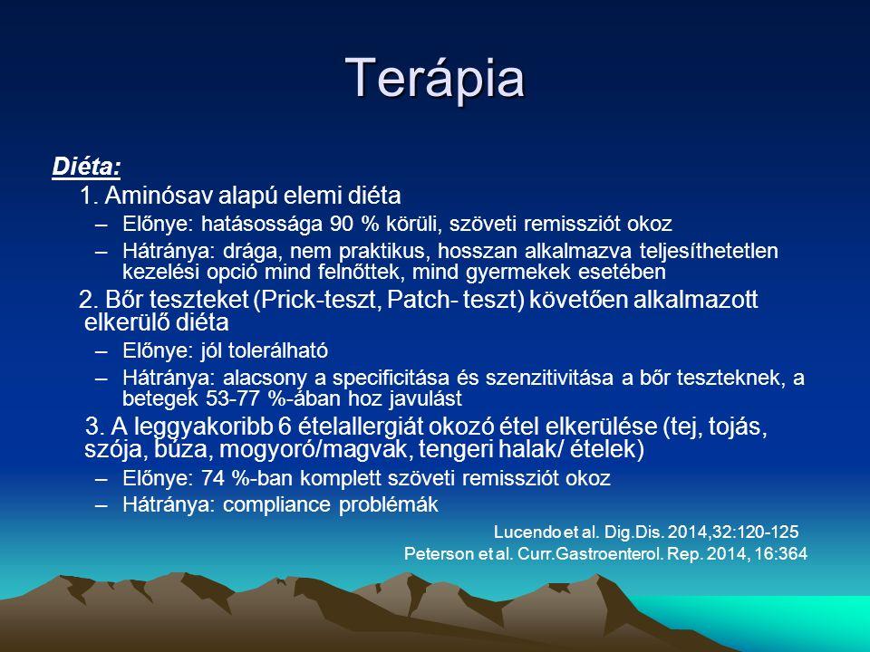 Terápia Diéta: 1.