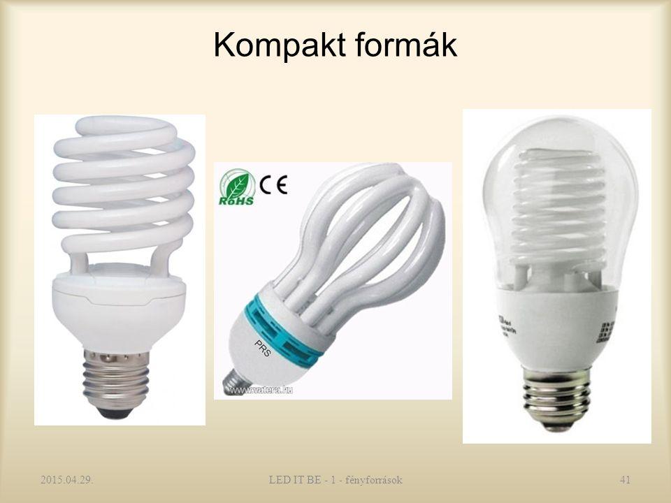 Kompakt formák 2015.04.29.LED IT BE - 1 - fényforrások41