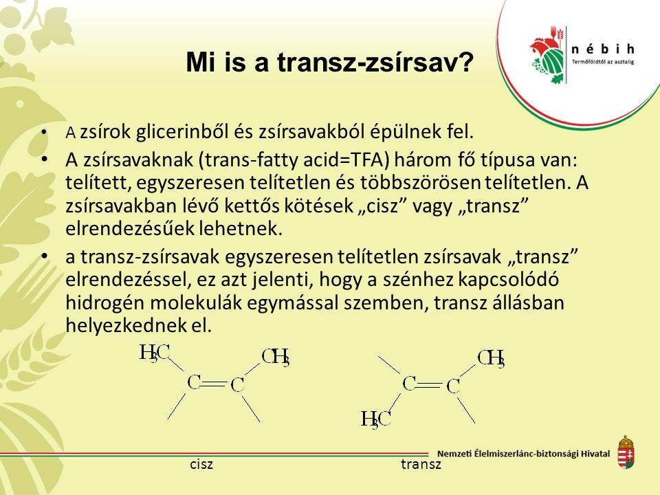 Mi is a transz-zsírsav? A zsírok glicerinből és zsírsavakból épülnek fel. A zsírsavaknak (trans-fatty acid=TFA) három fő típusa van: telített, egyszer