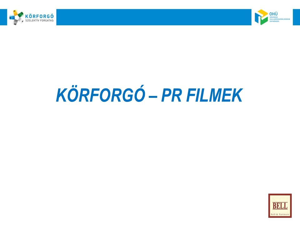 KÖRFORGÓ – PR FILMEK