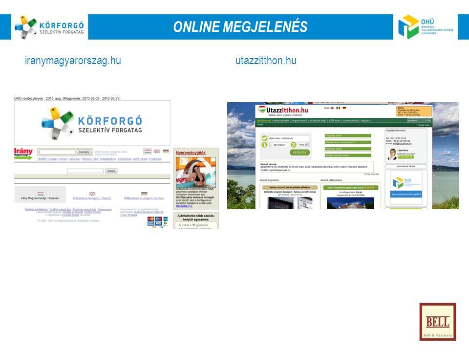 Online iranymagyarorszag.huutazzitthon.hu ONLINE MEGJELENÉS