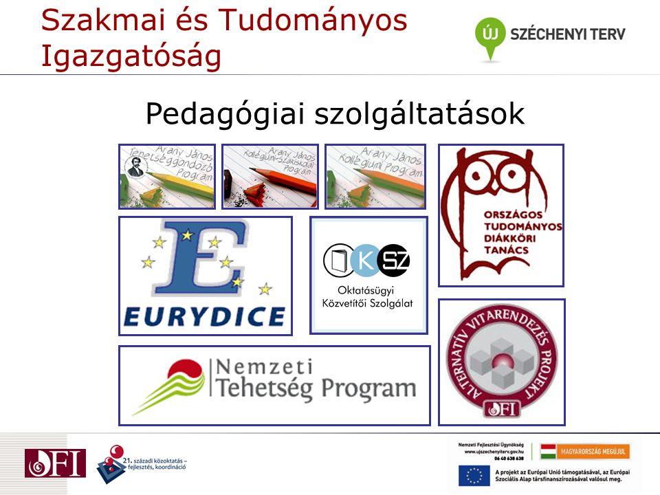 Pedagógiai szolgáltatások Szakmai és Tudományos Igazgatóság