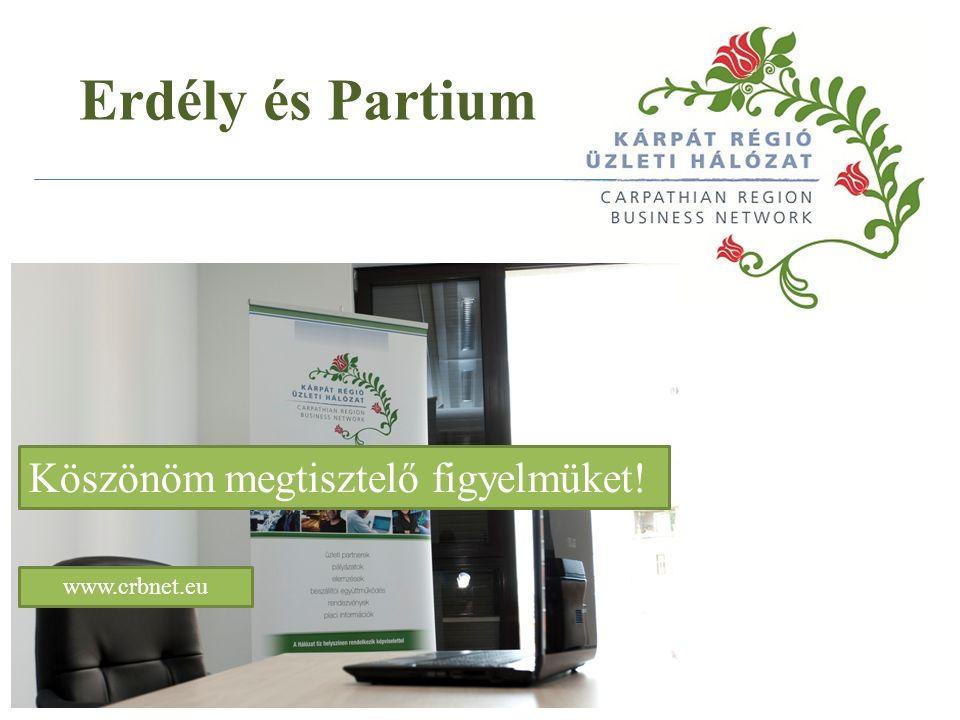 Köszönöm megtisztelő figyelmüket! www.crbnet.eu Erdély és Partium