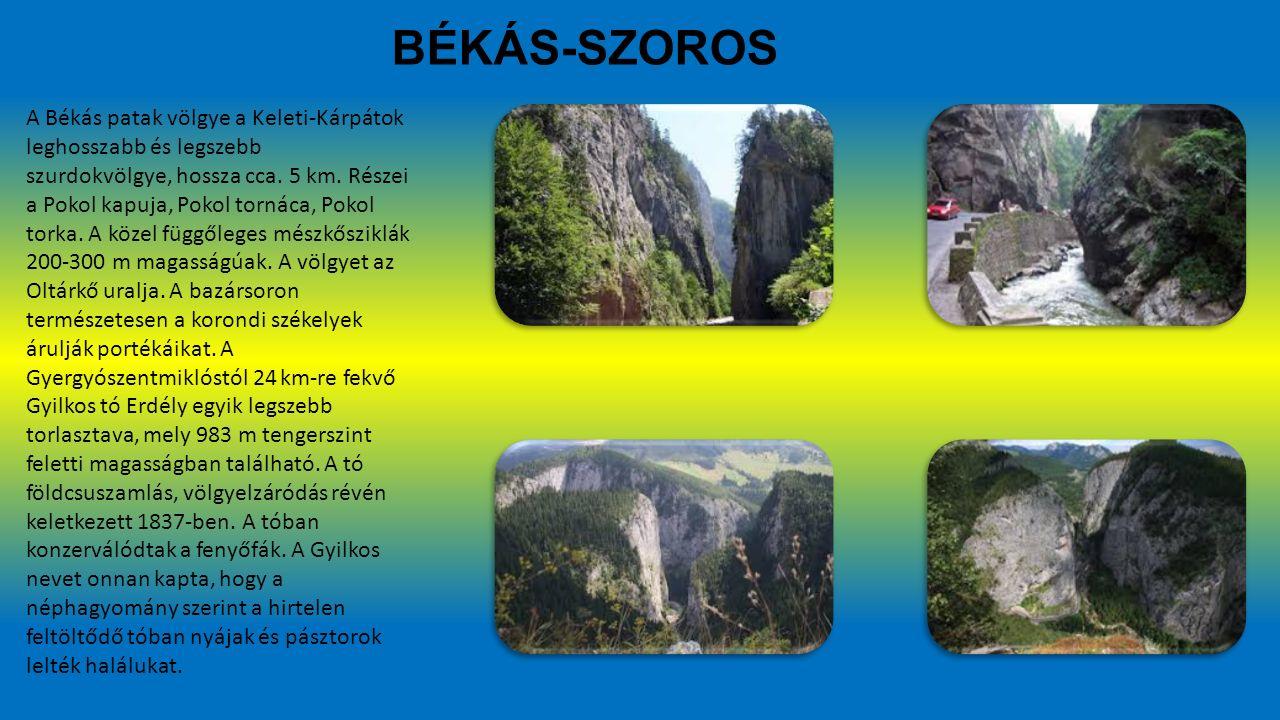 BÉKÁS-SZOROS