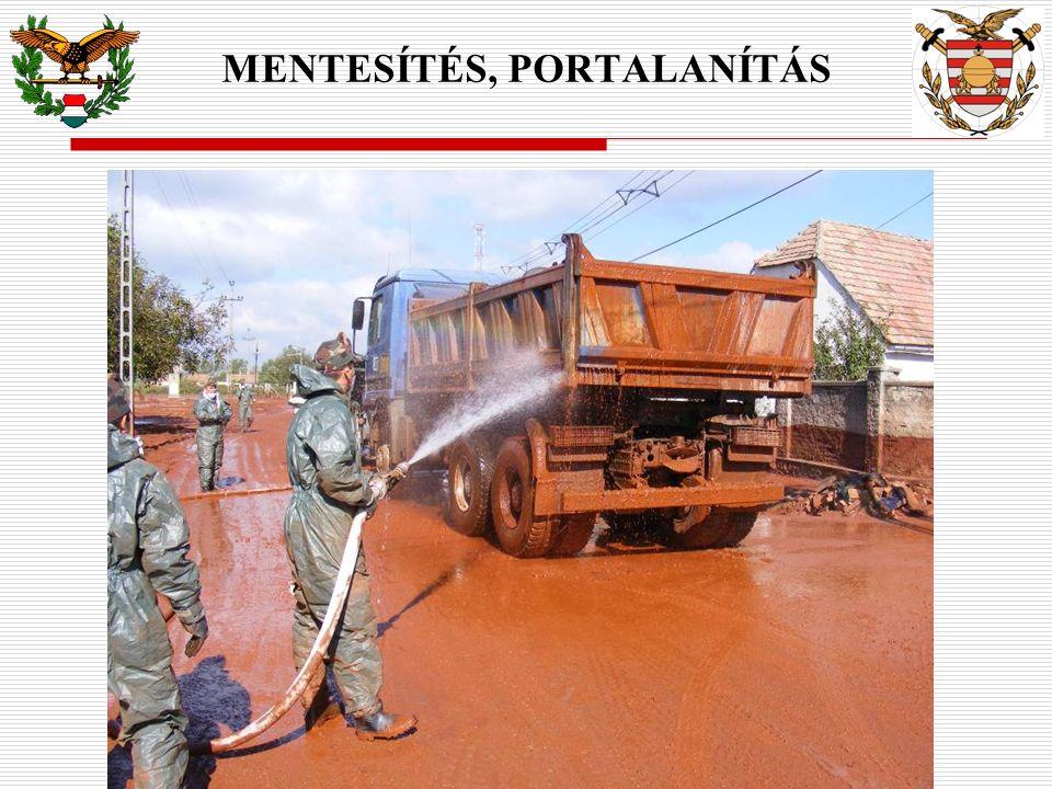 MENTESÍTÉS, PORTALANÍTÁS