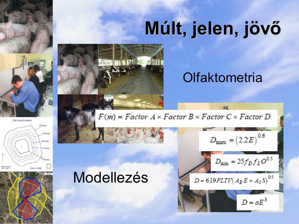 Múlt, jelen, jövő Olfaktometria Modellezés