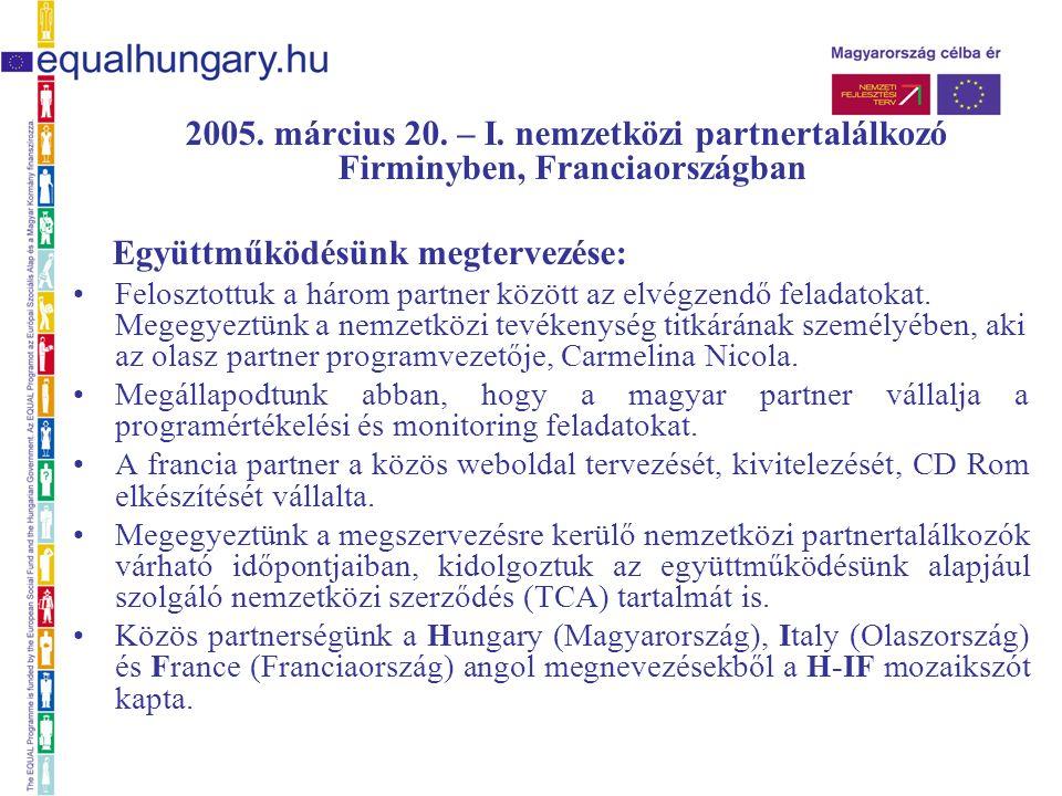 2005. március 20. – I.