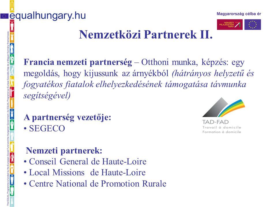 Nemzetközi partnerek III.