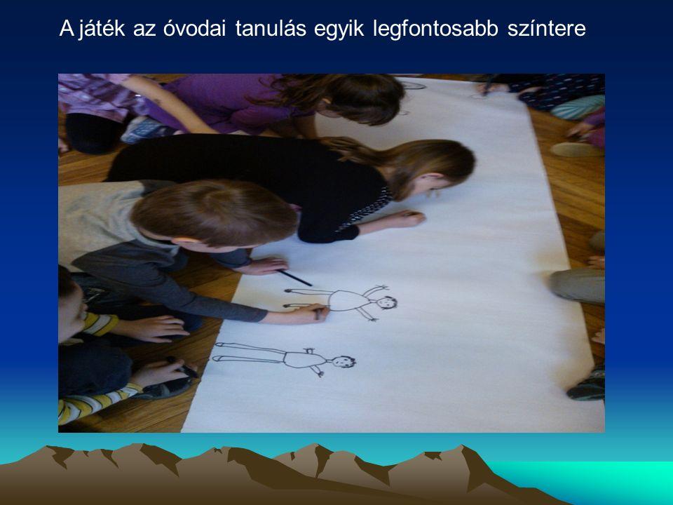A játék az óvodai tanulás egyik legfontosabb színtere