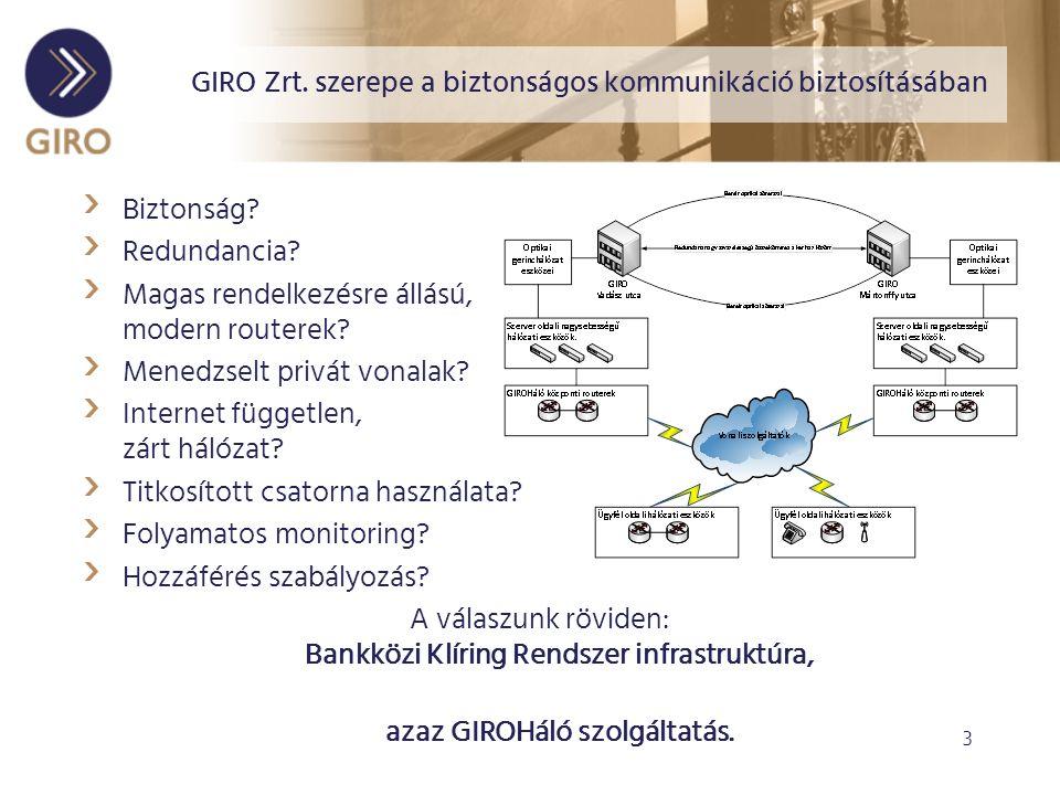 3 GIRO Zrt. szerepe a biztonságos kommunikáció biztosításában › Biztonság.