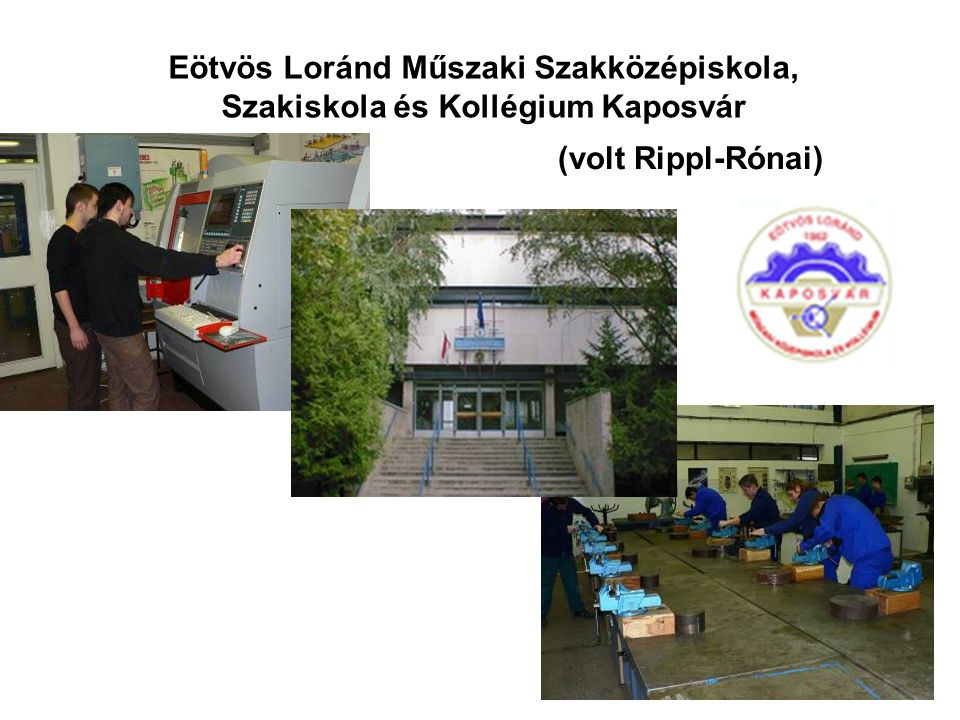 Eötvös Loránd Műszaki Szakközépiskola, Szakiskola és Kollégium Kaposvár (volt Rippl-Rónai)