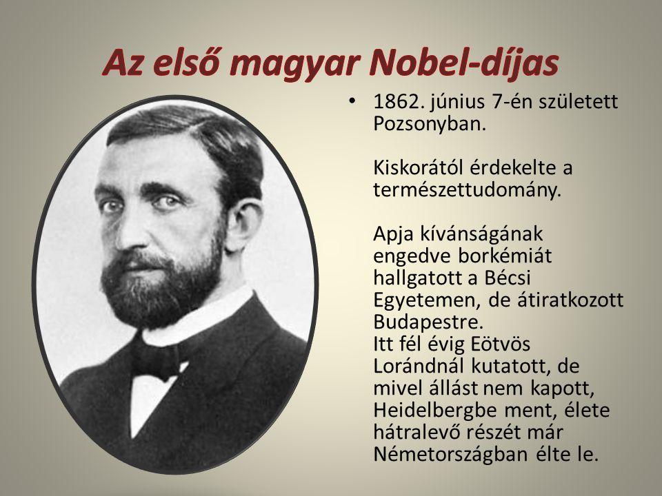 1862. június 7-én született Pozsonyban. Kiskorától érdekelte a természettudomány. Apja kívánságának engedve borkémiát hallgatott a Bécsi Egyetemen, de