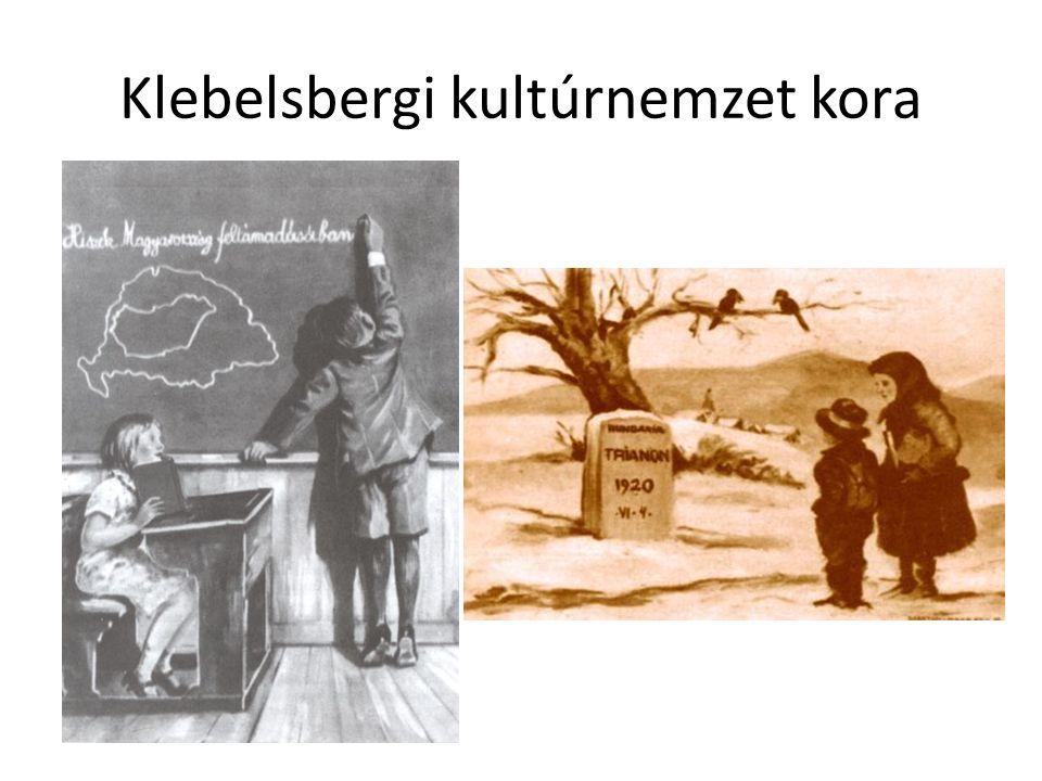 Klebelsbergi kultúrnemzet kora