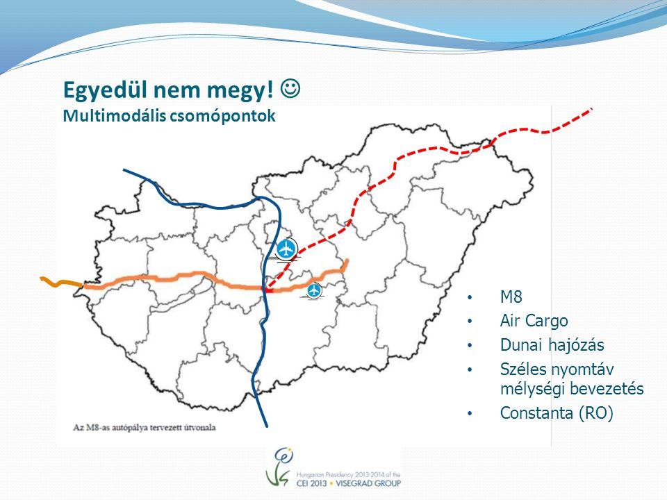 M8 Air Cargo Dunai hajózás Széles nyomtáv mélységi bevezetés Constanta (RO) Egyedül nem megy.