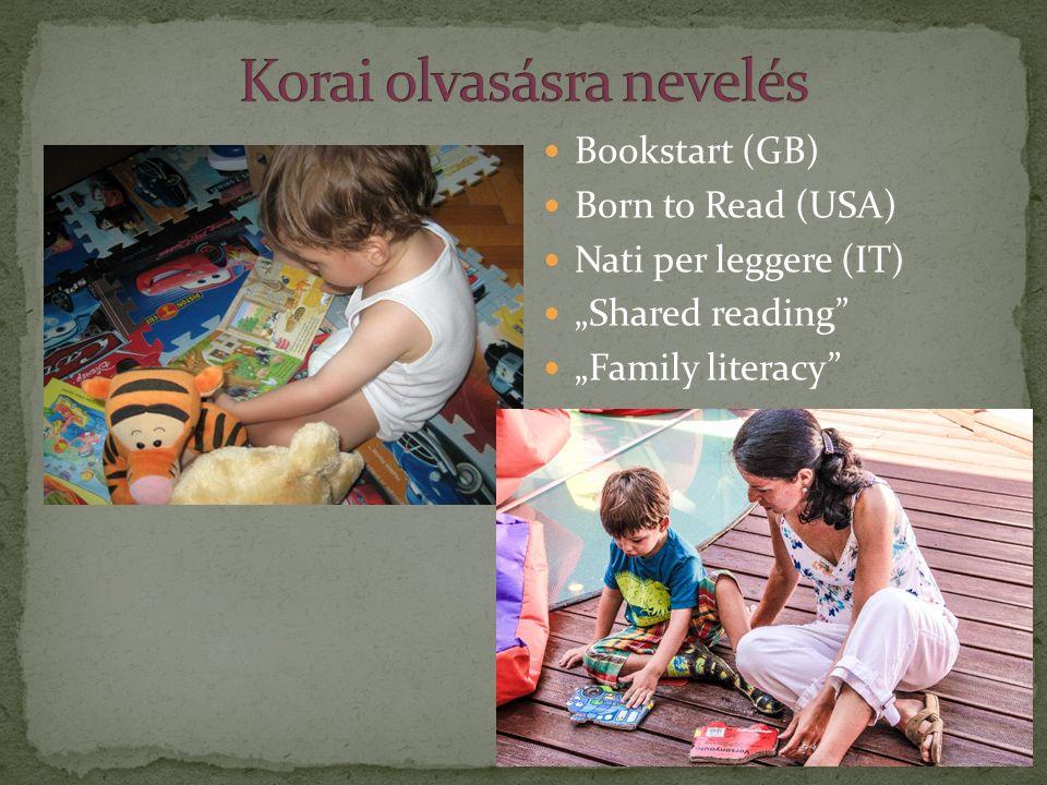 "Bookstart (GB) Born to Read (USA) Nati per leggere (IT) ""Shared reading"" ""Family literacy"""
