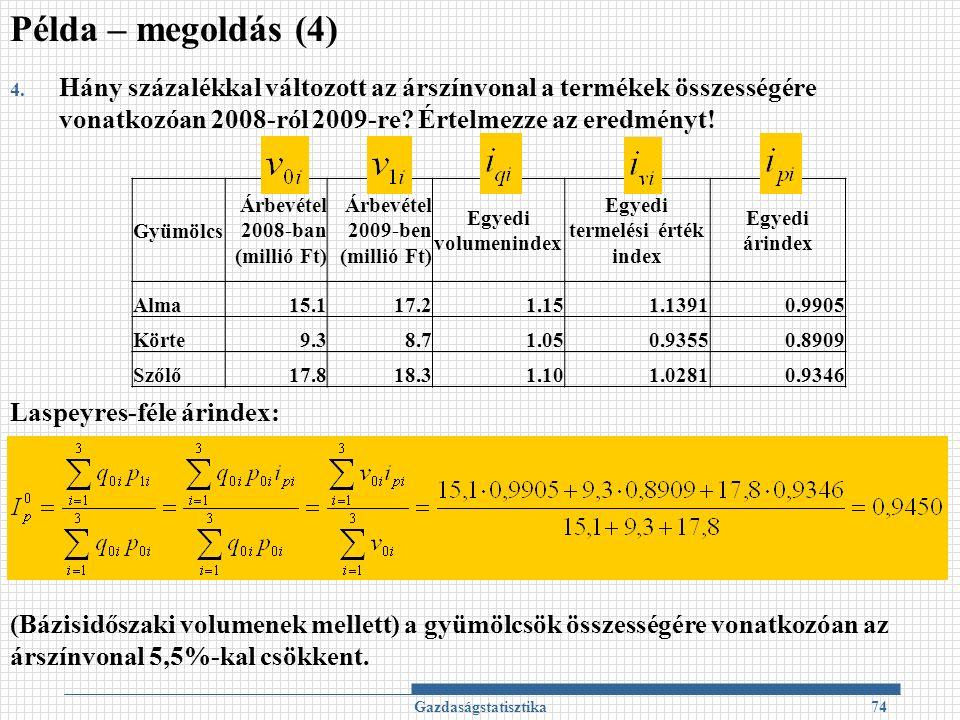 Gazdaságstatisztika74 4.