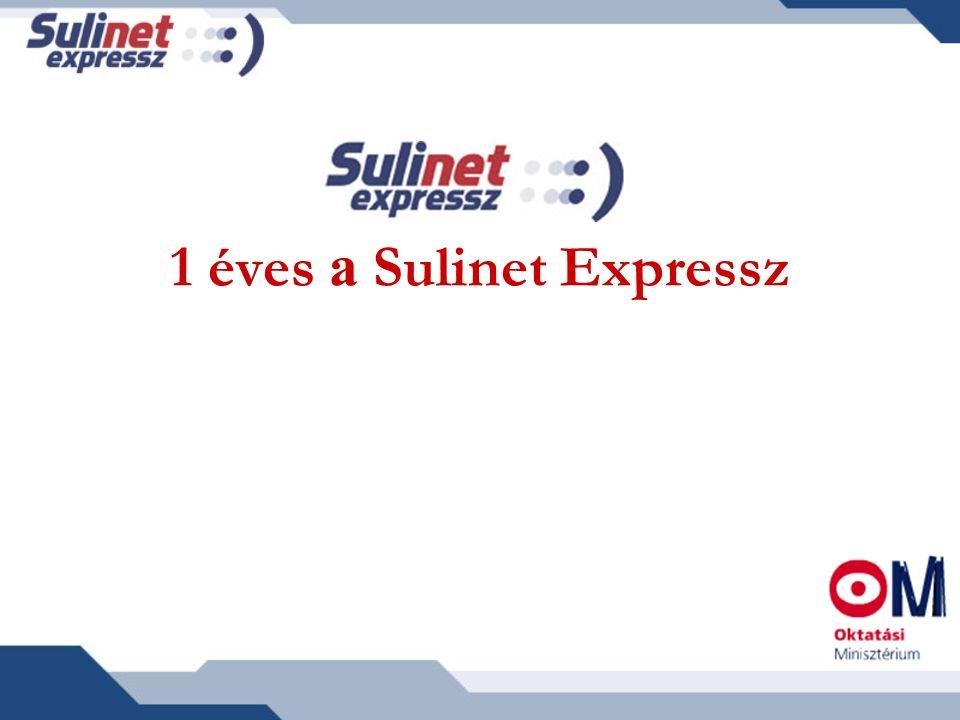 A program első éve Az Oktatási Minisztérium 2003.nyarán indította el a Sulinet Expressz programot.