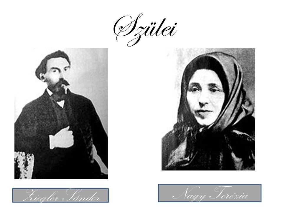 Szülei Ziegler Sándor Nagy Terézia