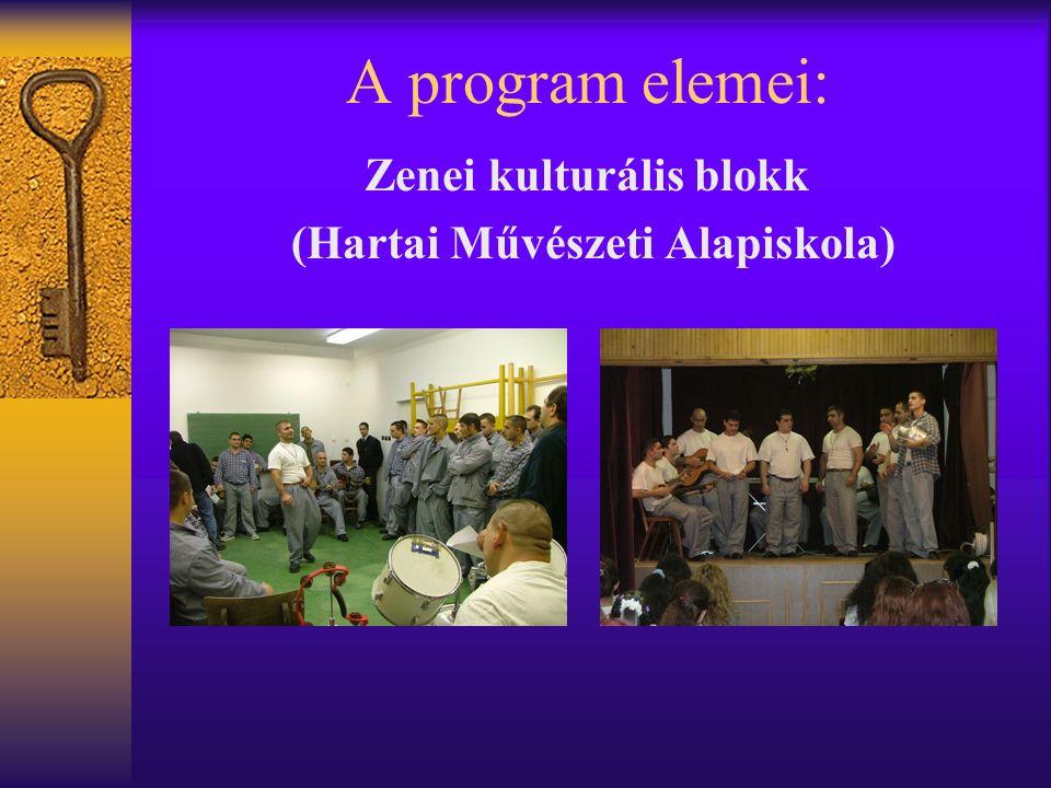 A program elemei: Zenei kulturális blokk (Hartai Művészeti Alapiskola)