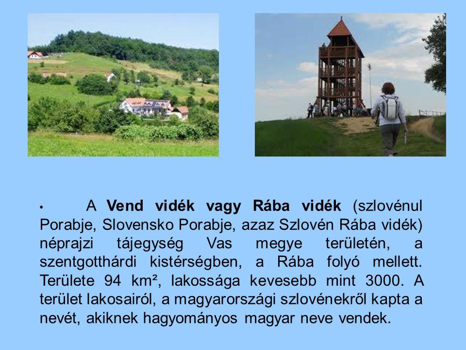A Vend vidék vagy Rába vidék (szlovénul Porabje, Slovensko Porabje, azaz Szlovén Rába vidék) néprajzi tájegység Vas megye területén, a szentgotthárdi