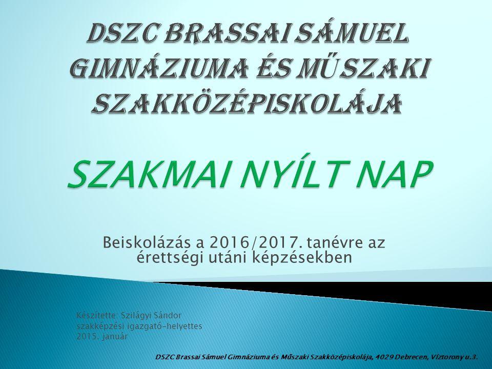 Beiskolázás a 2016/2017.