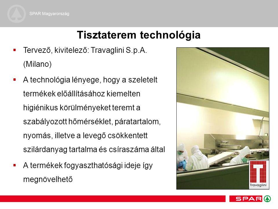 Tisztaterem technológia  Tervező, kivitelező: Travaglini S.p.A.