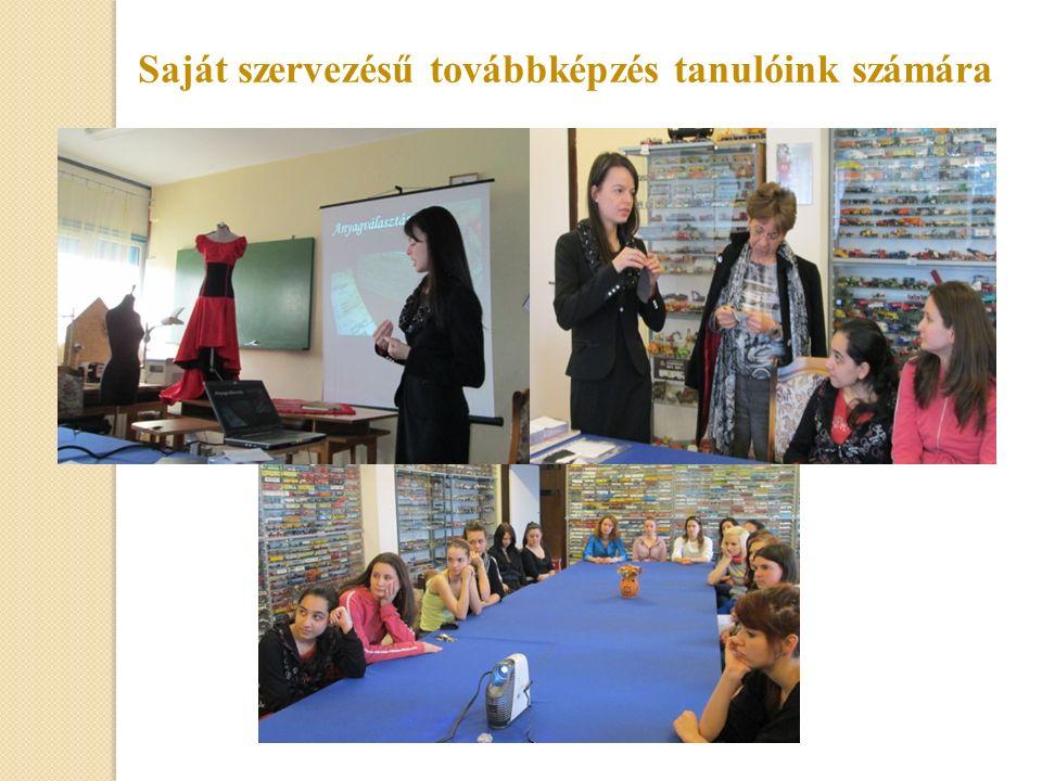 Iskolánk végzett tanulója bemutatót tartott a szakmáról, az eddigi tapasztalatairól, lehetőségekről a munka világában.