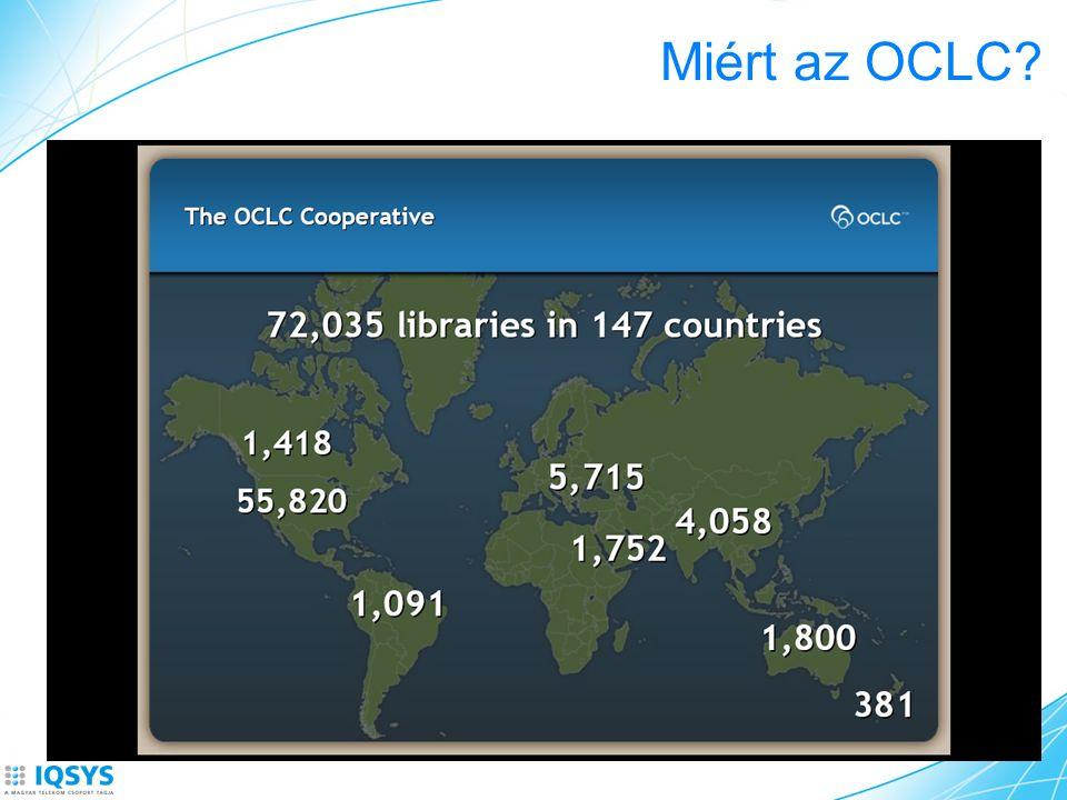 Miért az OCLC?