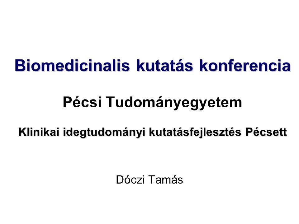 Klinikai Idegtudományi Központ 199520071997