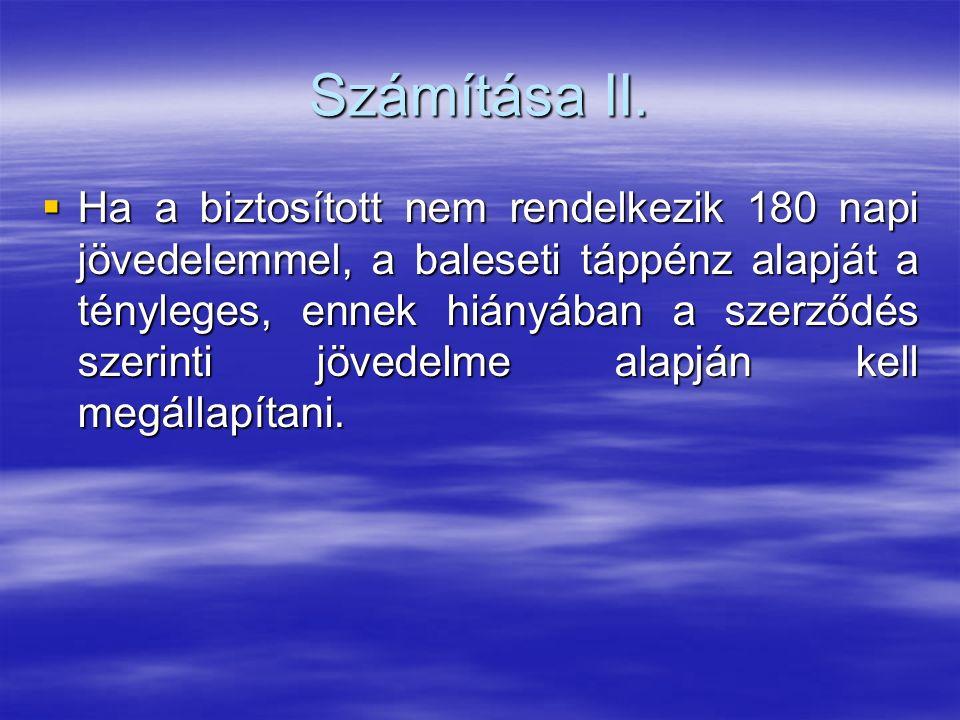 Számítása II.