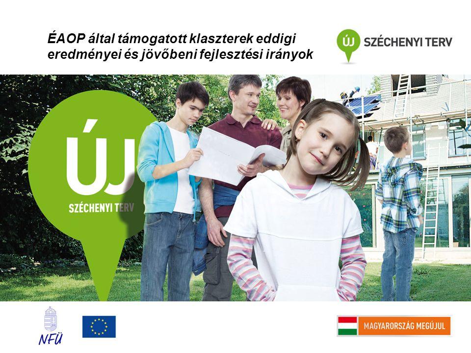 ÉAOP által támogatott klaszterek eddigi eredményei és jövőbeni fejlesztési irányok