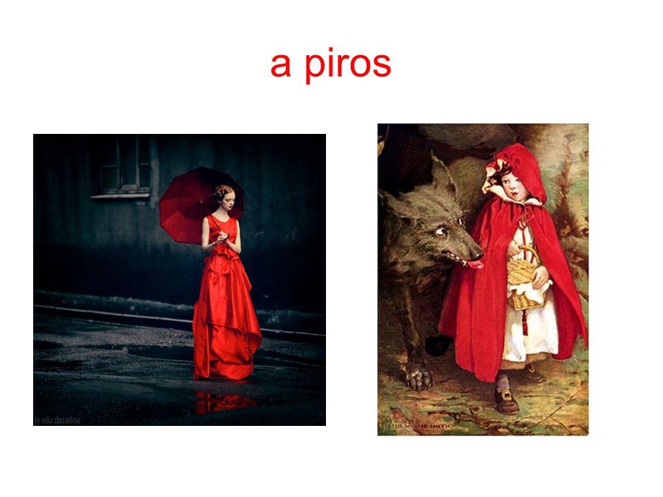 a piros