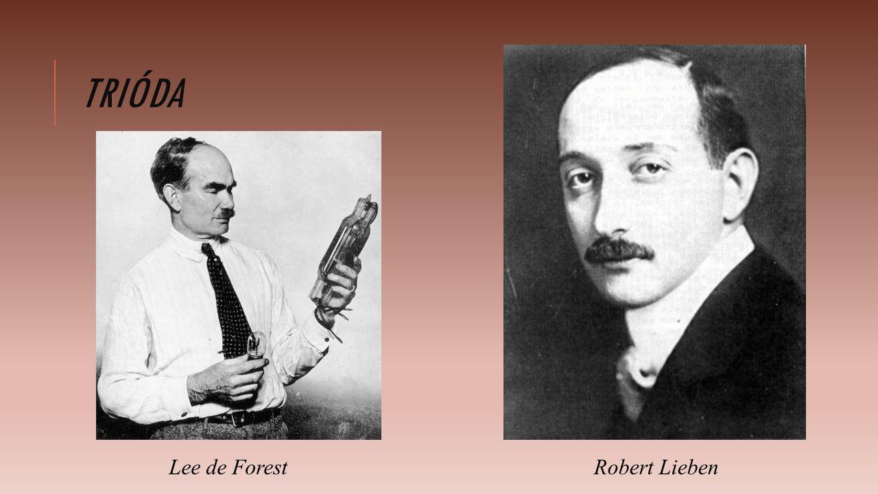 TRIÓDA Lee de ForestRobert Lieben